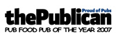PUB FOOD PUB OF THE YEAR 2007-8